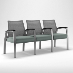 Foster Mesh-Back Three-Seater, 25708
