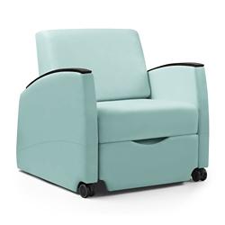 Wide Three Position Vinyl Sleep Chair, 26110