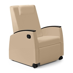 Wide Vinyl Recliner with Removable Cover, 26115