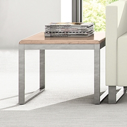 """Behavioral Health Solid Top End Table - 16""""H, 26136"""