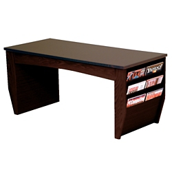 "Coffee Table with Magazine Rack - 46.5""W, 26246"