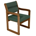 Guest Armchair with Sled Base, 26250