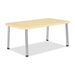 "Laminate Corner Table - 40""W x 22""D, 26356"