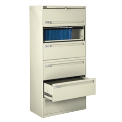 """Spectrum Six Drawer Lateral File - 42""""W, 30054"""