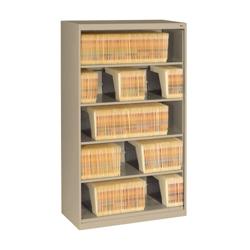 Five Shelf Open Lateral File Shelving Unit, 30059