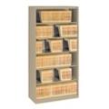 Six Shelf Open Lateral File Shelving Unit, 30060