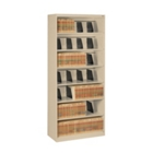 Seven Shelf Open Lateral File Shelving Unit, 30061