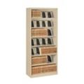 Seven Shelf Open Lateral File Shelving Unit, 30061
