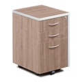 "Compass 16""W  Three Drawer Mobile Pedestal, 30070"