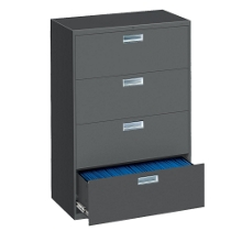 "Four Drawer Lateral File - 36""W, 30194"