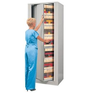 Seven Shelf Letter Size Rotary File - Starter Unit, 30331