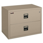 "Lateral Fireproof File with Two Drawers 44""W, 30344"