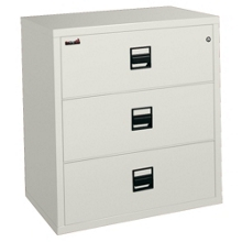 """Lateral Fireproof File with Three Drawers 38""""W, 30345"""