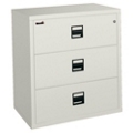 "Lateral Fireproof File with Three Drawers 38""W, 30345"