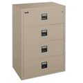 "Lateral Fireproof File with Four Drawers 38""W, 30347"