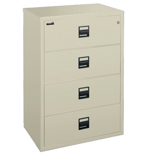"Lateral Fireproof File with Four Drawers 44""W, 30348"