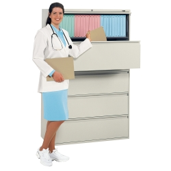 "36"" Wide Five Drawer Lateral File, 30362"