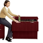 Lateral File with Two Drawers, 30397