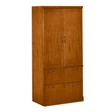 Executive Cherry Lateral File Storage Cabinet Without Moulding, 30401