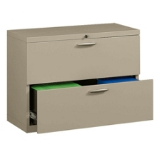 """36"""" Wide Two-Drawer Lateral File with Counterweights, 30571"""