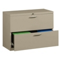 "36"" Wide Two-Drawer Lateral File with Counterweights, 30571"