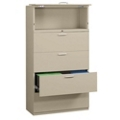 "Five-Drawer 36"" Wide Lateral File with Counterweights, 30580"