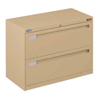 """Spectrum Two Drawer Lateral File with Counterweight - 36""""W, 30768"""