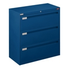 "36"" Wide Lateral File with Three Drawers and Counterweight, 30586"
