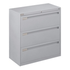"36"" Wide Lateral File with Three Drawers, 30761"