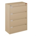 "Spectrum Four Drawer Lateral File - 36""W, 30762"