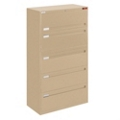 "Spectrum Five Drawer Lateral File with Counterweight - 36""W, 30590"