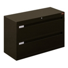 "42"" Wide Lateral File with Two Drawers and Counterweight, 30769"