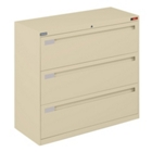 "42"" Wide Lateral File with Three Drawers, CD04088"