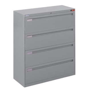"Spectrum Four Drawer Lateral File - 42""W, 30766"