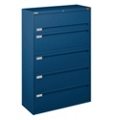 "Spectrum Five Drawer Lateral File - 42""W, 30767"