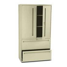 Storage Cabinet with Lateral File, 30816