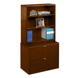 Fairbanks Bookcase with Lateral File, 30825
