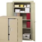 """Steel Storage Cabinet - 72""""H x 18""""D, 31106"""