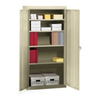 "Fully Assembled Steel Storage Cabinet - 36""W x 18""D x 72""H, CD03920"