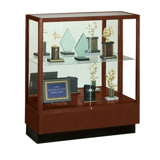 Counter Height Classic Display Case with Mirror Backing, 31171