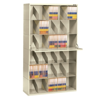 Letter Size Six Tier Add-A-Stack File Unit, 31182