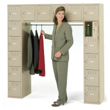 Heavy-Duty 16-Person Box Locker Unit, 31238