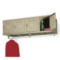 Heavy-Duty 4-Person Wall Mount Box Locker Unit, 31239