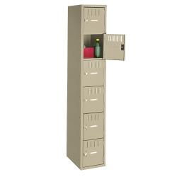 Six Tier Box Locker Set, 31244