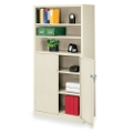 "36""W x 18""D x 72""H Bookcase with Doors, 31353"