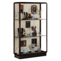 "48"" Wide Unlighted Bronze Floor Case, 31566"