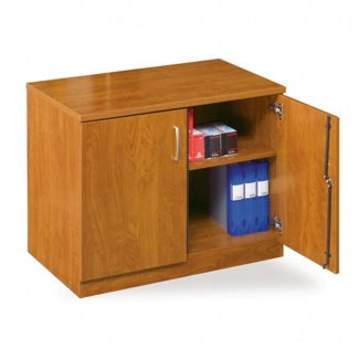 "Compact Double Door Storage Cabinet - 29""H, 31660"