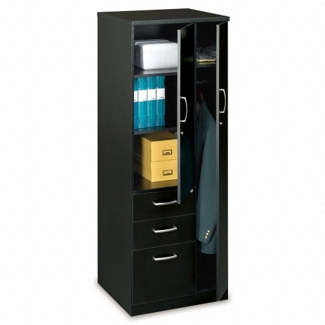 Storage Tower with 2 Utility Drawers and 1 File Drawer, 31661