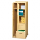 Storage Tower with 2 File Drawers, CD03564