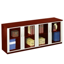 Credenza with all Glass Doors, 31673